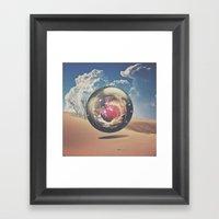 Orb V01 Framed Art Print