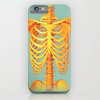 skeleton iPhone & iPod Cases featuring Skeleton by ShannonPosedenti