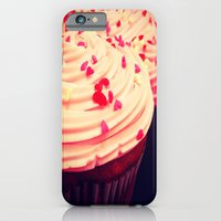 iPhone & iPod Case featuring Cupcakes by Sara Miller