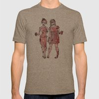 Zombie Bridesmaids Mens Fitted Tee Tri-Coffee SMALL