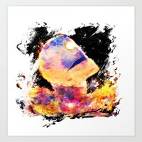 colorful giant Art Print
