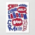 Superpop Canvas Print
