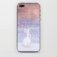 Snow Bunny iPhone & iPod Skin