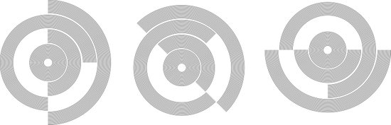 circle pattern 01 Art Print
