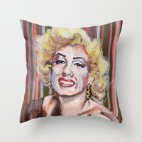 Marilyn Monroe 2 Throw Pillow