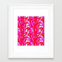 Urban Pink Framed Art Print