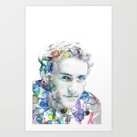 Heath Ledger Art Print