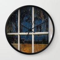 6 panes  Wall Clock