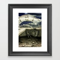 About The Time 2 Framed Art Print