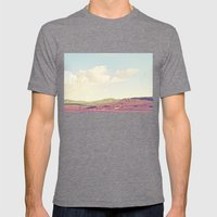 Summer Field Mens Fitted Tee Tri-Grey SMALL