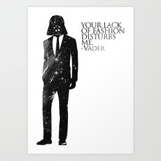the lord of fashion Art Print