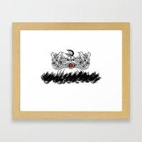 The Sign Of Jonah Framed Art Print