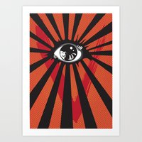 Vendetta Alternative movie poster Art Print