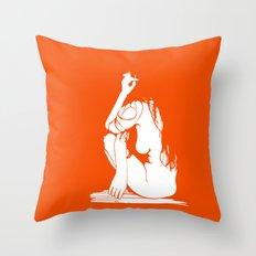 1Girl.1 Throw Pillow