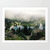 Rainier Eunice Lake Art Print