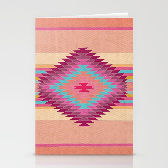 FIESTA (pink) Stationery Card