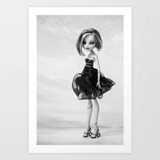 Monster High doll  Art Print