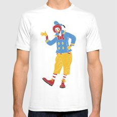 RonaldMcDonaldDuck Mens Fitted Tee SMALL White
