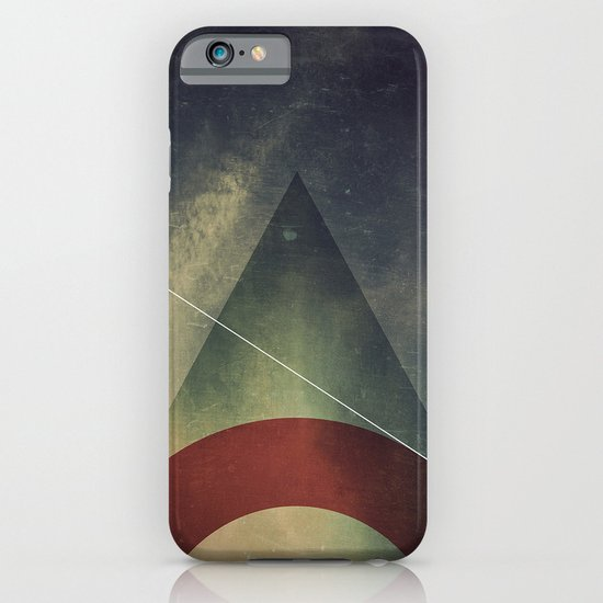 triangle half circle iPhone & iPod Case