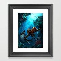 Deep Loot Framed Art Print
