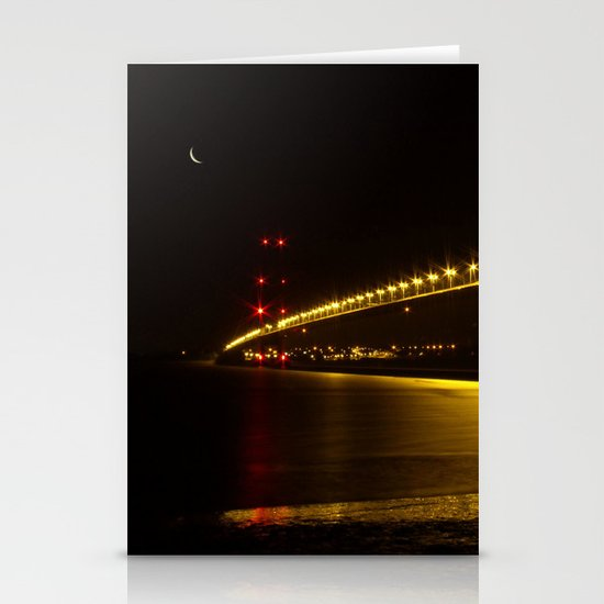 River of Gold- Humber Bridge Stationery Card