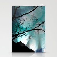 Shadows in the Night Stationery Cards