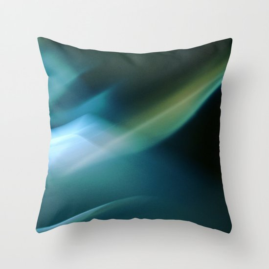 Between Moonshadows Throw Pillow