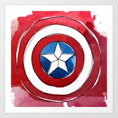 CAPTAIN AMERICA Art Print