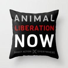 Liberation Now Throw Pillow