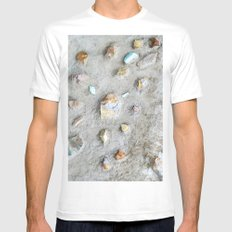 Swedish Stone Wall Mens Fitted Tee White SMALL