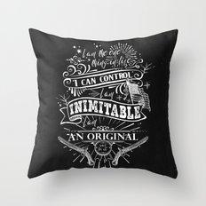 Hamilton - Inimitable Throw Pillow