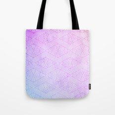 Pink Aztec Geo Tote Bag