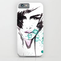 iPhone & iPod Case featuring The Stare by Elisaveta Stoilova