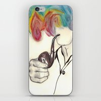 Blowing Smoke iPhone & iPod Skin