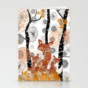 HELLO FOXY Stationery Cards