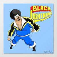 Black Lightning (Sinbad Version)  Canvas Print