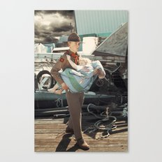 The Rescuer. Canvas Print