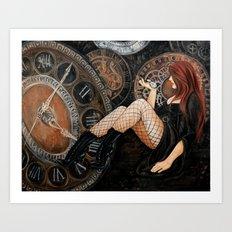 The Endless Wait Art Print