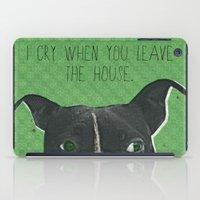 Boston Terrier Print iPad Case