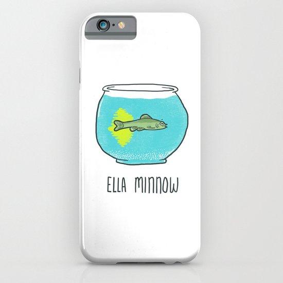 Ella Minnow Accident  iPhone & iPod Case