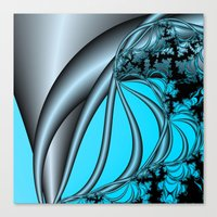 Steel Solice Canvas Print