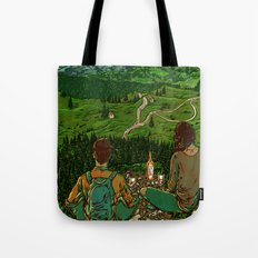 Mountains in Romania Tote Bag