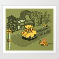 S-Car-Go! Art Print