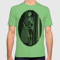 The Skeleton By The Prin… Mens Fitted Tee Grass SMALL