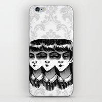 Triplets iPhone & iPod Skin