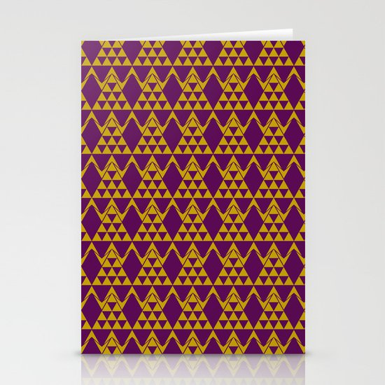 tribal pattern 3 Stationery Card