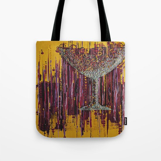 :: Afternoon Wine :: Tote Bag