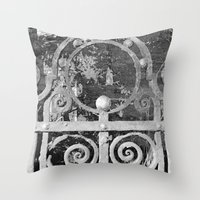 The MAGIC Gate - Another… Throw Pillow
