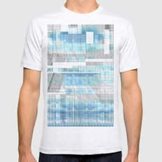 Sky Scraped Mens Fitted Tee Ash Grey SMALL