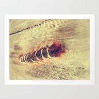 Centipedes 2 Art Print